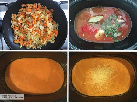 Sopa De Jitomate Slow Cooker 2