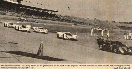 Lola MkIII B de 1969 en las 24 horas de Daytona de 1969