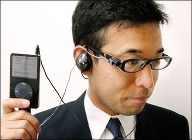 Controlando el iPod con los dientes
