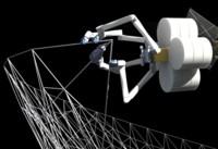 La próxima estación espacial podría construirse gracias a estos robots-araña