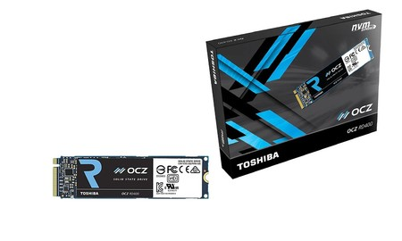 OCZ RD400, 512 GB de alamacenamiento sólido NVMe para tu ordenador por sólo 129 euros en PcComponentes