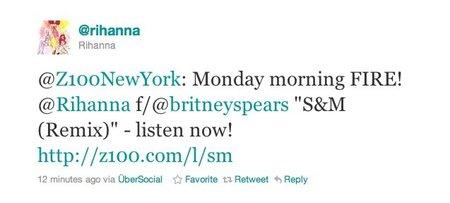Britney Spears y Rihanna, juntas y revueltas