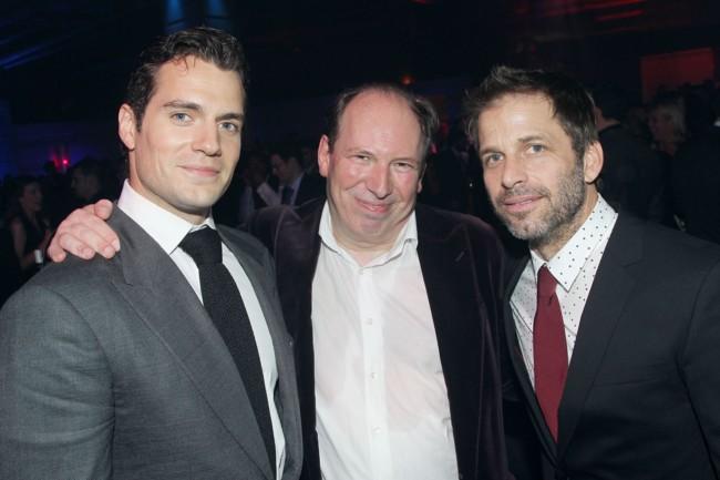 Henry Cavill, Hans Zimmer y Zack Snyder