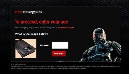 Crysis y el VHS