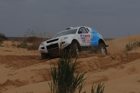 OSCar eO: después del Dakar el Rally de la Ruta de la Seda