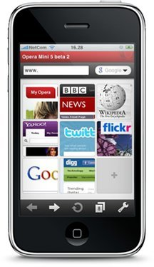 Opera Mini para iPhone