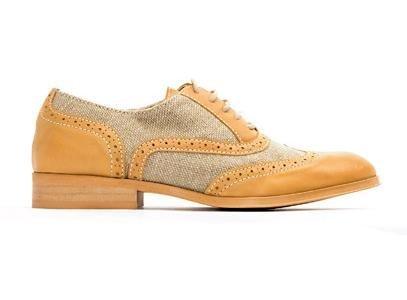 zapato oxford mango