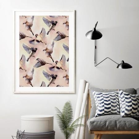 La inspiración animal cobra protagonismo en las paredes de nuestro hogar