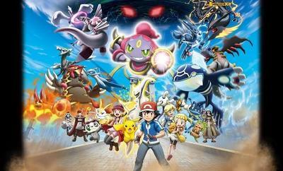 Fiesta de legendarios en la próxima película de Pokémon XY