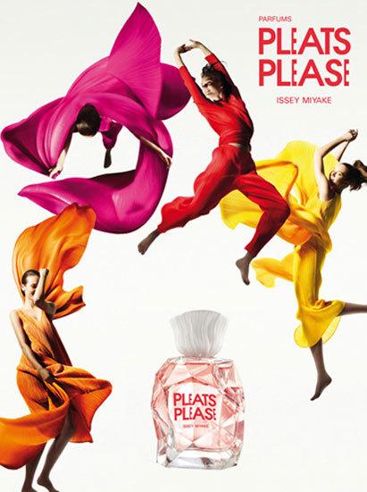 Pleats Please, mucho más que la nueva fragancia femenina de Issey Miyake