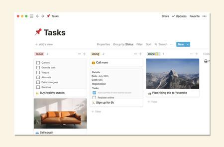 Notion, la genial app para gestionar tareas y tomar notas ahora tiene un plan gratuito ilimitado: así la usa el equipo de Genbeta