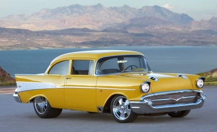 1957 Chevrolet Bel Air Project X