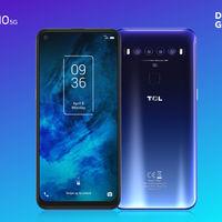 TCL 10 5G: un nuevo competidor en la gama media con 5G y cuatro cámaras como principales bazas