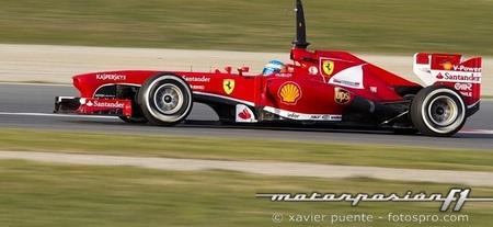 Fernando Alonso acelera con frío invernal
