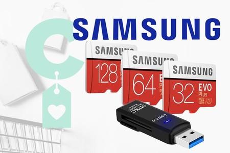 Opciones Samsung EVO rebajadas en Amazon, para dar más capacidad de almacenamiento a tu smartphone y gestionar archivos