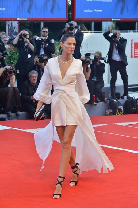 festival de cine de venecia celebrities look estilismo outfit bianca balti