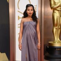 Kerry Washington presume de embarazo vestida de Jason Wu en los Oscar 2014 con un look que no recordaremos