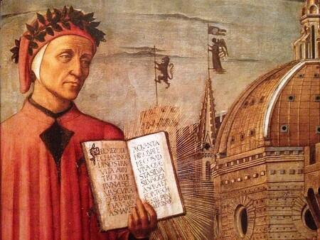 Retrato de Dante Alighieri.