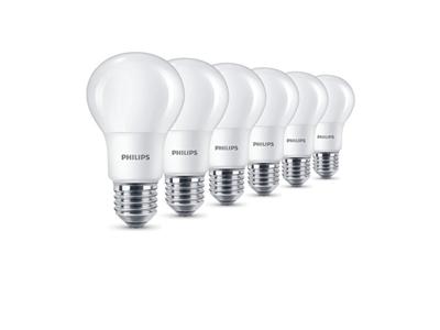 Pack de 6 bombillas LED Philips con 10 euros de descuento en Amazon