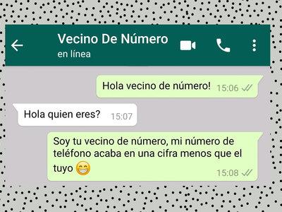 """""""Hola vecino de número"""": así es la moda de hablarle a desconocidos en WhatsApp"""