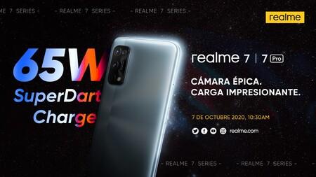Los Realme 7 y Realme 7 Pro se presentarán en España el 7 de octubre