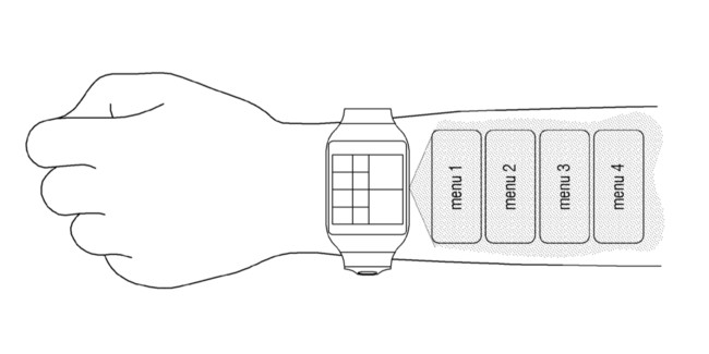 Samsung Patent Numpad Projection Hand 1