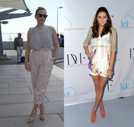 Kyle Minogue y Olivia Palermo, dos looks veraniegos para ir guapa