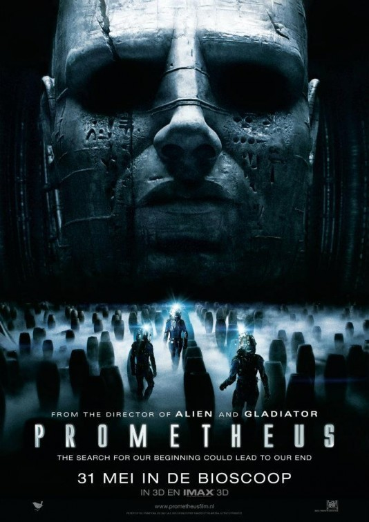 'Prometheus', carteles oficiales