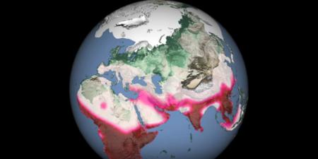 La historia de las migraciones humanas a lo largo de 125.000 años, resumida en un sólo minuto