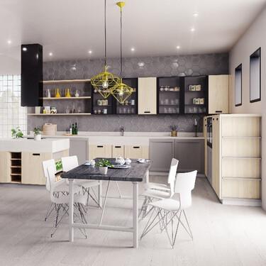 Dinos cómo es tu casa, y te diremos cuál es tu cocina ideal
