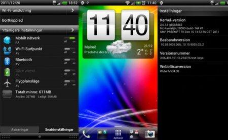 Se filtra una versión alfa de Ice Cream Sandwich para el HTC Sensation
