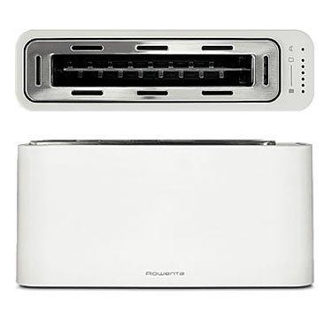 Rowenta toaster, diseño y tecnología