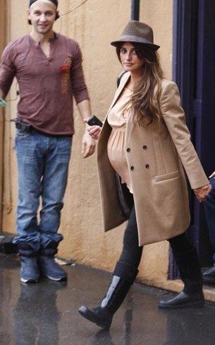 Penélope Cruz embarazo camel