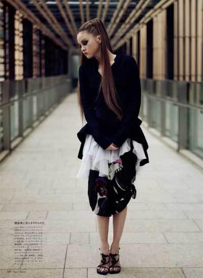 Foto de Devon Aoki en Vogue Japan (8/9)