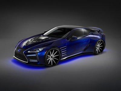 Lexus presenta dos autos inspirados en Black Panther