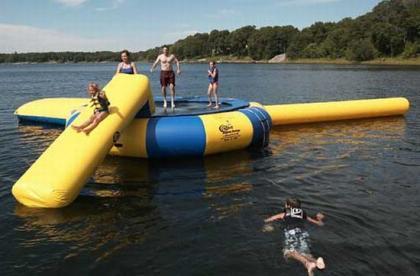 Aqua Jump, lo que te faltaba para tus vacaciones en la playa