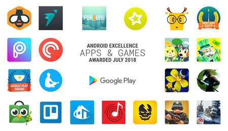Las 21 aplicaciones y juegos premiadas por Google en la edición de julio de Android Excellence
