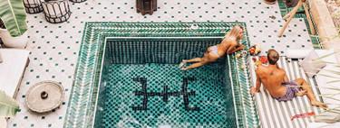 Esta preciosa piscina marroquí se ha convertido en el lugar de moda en Instagram. ¿Por qué?