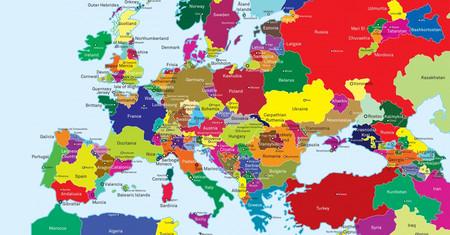 El mapa de Europa, redibujado en función de las reivindicaciones de todos los nacionalismos
