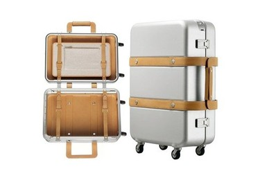 Hermes y su maleta Orion anodizada, un lujo de lo más elegante