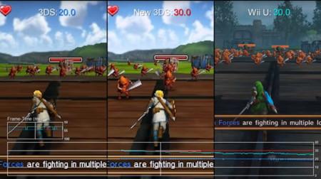 El rendimiento de la adaptación de Hyrule Warriors en Wii U, 3DS y New 3DS frente a frente