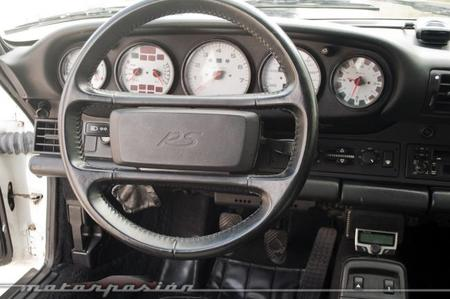 Porsche 911 964 Carrera RS interior