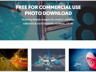 """Free For Commercial Use"" una web para descargar cientos de fotos de alta calidad y de dominio público"