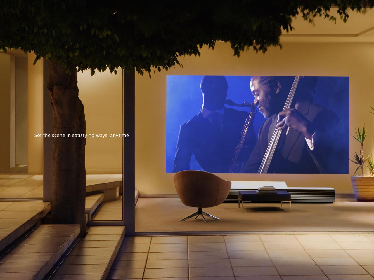 Sony proyector 4K de alcance ultracorto