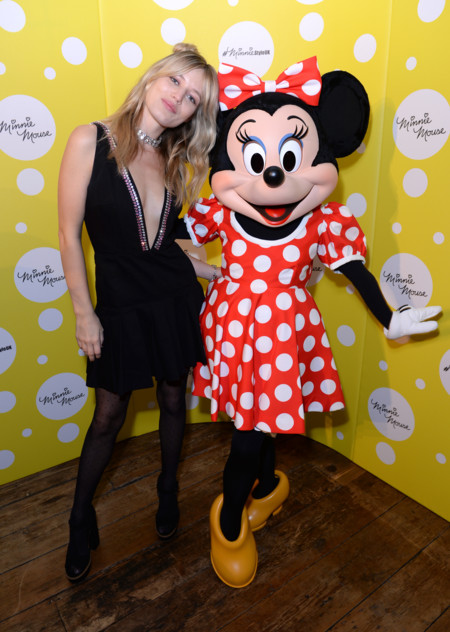 Georgia May Jagger Y Minnie Mouse Ii
