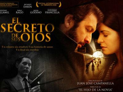 Cine en el salón: 'El secreto de sus ojos', el verbo eterno