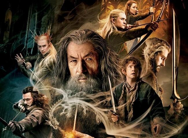 Cartel de 'El hobbit: La desolación de Smaug'
