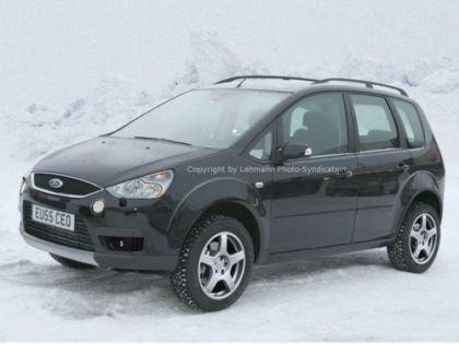 Focus C-Max Cross Country, fotos espías del nuevo 4x4 de Ford