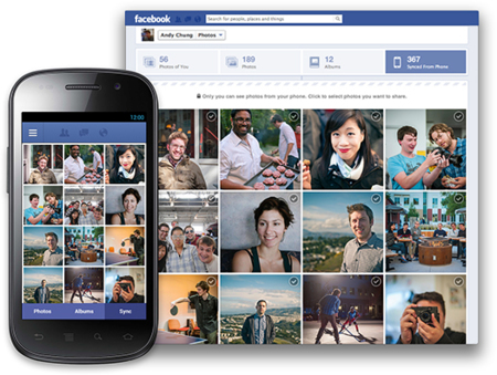 PhotoSync Facebook