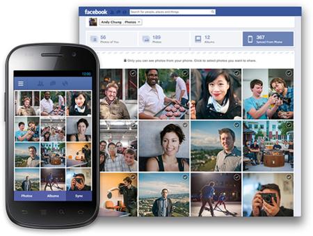 Facebook prepara la subida automática de fotos en su aplicación de Android